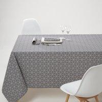 Diamond Patterned Polycotton Tablecloth