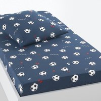 Football Cotton Fitted Sheet