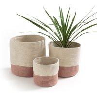 Solipolo Cotton Baskets (Set of 3)
