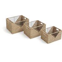 Woven Storage Boxes (Set of 3)