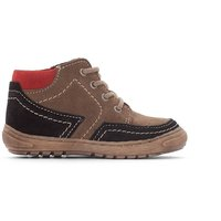 Leather Boots with Comfort Insole, 19-25