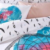 Dreamcatcher Feather Cotton Duvet Cover