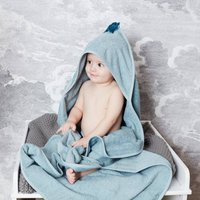 Organic Cotton Baby Bath Cape