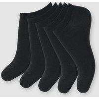 Pack of 5 Women's Low Ankle Socks