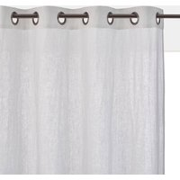 Onega Linen Single Curtain with Metal Eyelets