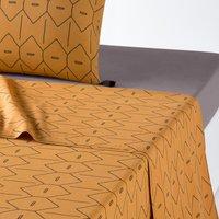 MIRNI Printed Washed Cotton Flat Sheet