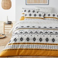 Bahiya Printed Cotton Percale Duvet Cover