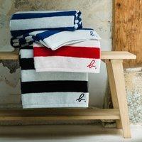 Agn ¨s B Striped Bath Towel