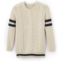 Cosy Cable Knit Jumper, 3-12 Years
