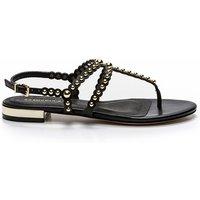 Foli Flat Leather Sandals