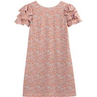 shop for Ruffled Floral Print Dress at Shopo