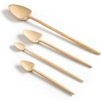 4 Sasaki By V. Barkowski Elm Triangle Spoons