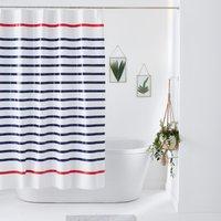 Marniere Striped Shower Curtain