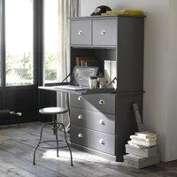 Betta Solid Pine Bureau-Bookcase