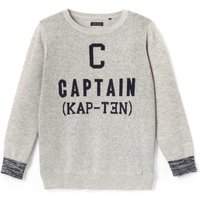 Captain Fine Knit Jumper, 3-14 Years