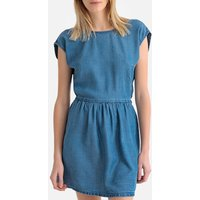 shop for Short Dress with Open Tie-Back at Shopo
