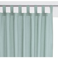 100% Cotton Single Voile Panel with Tab Top