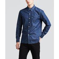 Plain Long-Sleeved Shirt