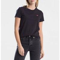 T-shirt Nero;bianco donna T-shirt PERFECT TEE scollo rotondo maniche corte