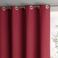 Voda Double-Sided Single Blackout Curtain with Eyelets.