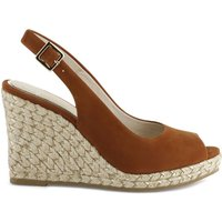 Lany Leather Wedge Sandals