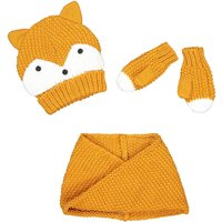 Hat, Mittens and Snood Set, Birth-8 Years