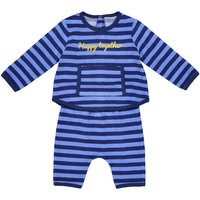 Striped Towelling Set, Birth-2 Years