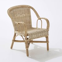"""Swan"" Child's Natural Rattan Core Chair"
