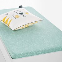 Kalou Dotted Printed Cotton Fitted Sheet
