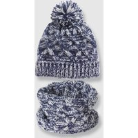 Chunky Knit Hat and Snood