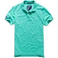Vintage Destroy Short-Sleeved Polo Shirt