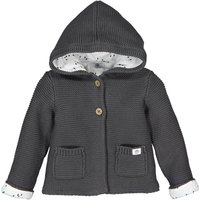 Cotton Knitted Hooded Cardigan, Birth-2 Years