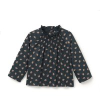Floral Print High Neck T-Shirt, 1 Mth-3 Yrs