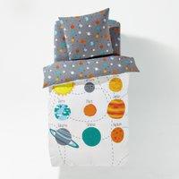 Planets Children's Printed Duvet Cover