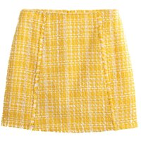 shop for Couture Straight Mini Skirt in Jacquard at Shopo