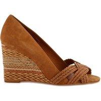 Avimi Leather Wedge Sandals