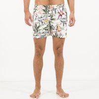 Volley Vinovo Floral Print Swim Shorts, White