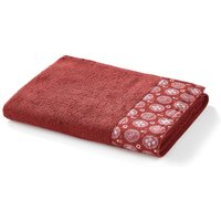 Cotton Indian Summer Bath Towel in Terry Cotton