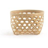 NYLIA Small Bamboo Storage Basket