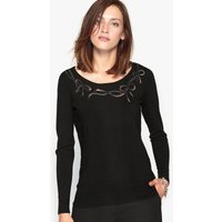 Embroidered Openwork Jumper at La Redoute Catalogue