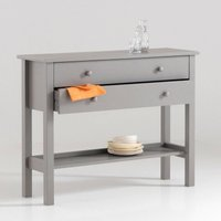 Perrine Solid Pine Console Table