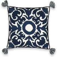 AM.PM BUNJI Ottoman-Inspired Linen/Cotton Cushion Cover