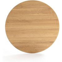 HISIA Round Solid Oak Table Top