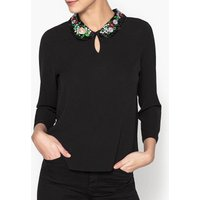 Sophie Printed Round Neck Blouse
