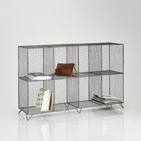 Areglo Metal Shelving Unit with 8 Compartments