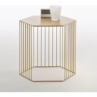 Topim Metal Wire Bedside Table or Side Table