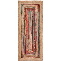 Jaco Jute and Cotton Runner Rug