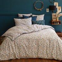 Kalyan Floral Duvet Cover in Cotton Percale