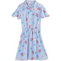 shop for Floral Print Shirt Dress at Shopo