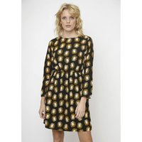 shop for Short Leopard Print Dress with Long Sleeves at Shopo